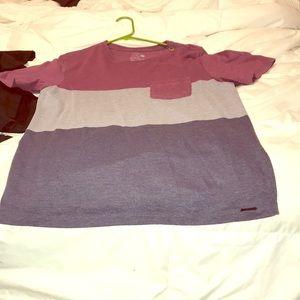 Men's medium striped shirt